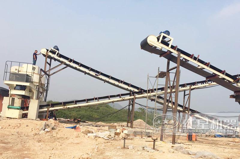 时产50吨碎砂生产线案例,欢迎就近考察