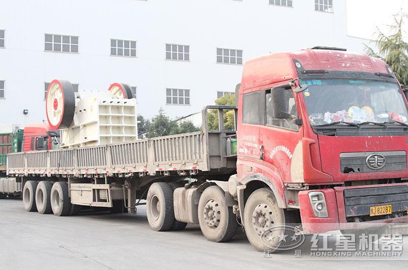 欧版颚式破碎机设备发往浙江