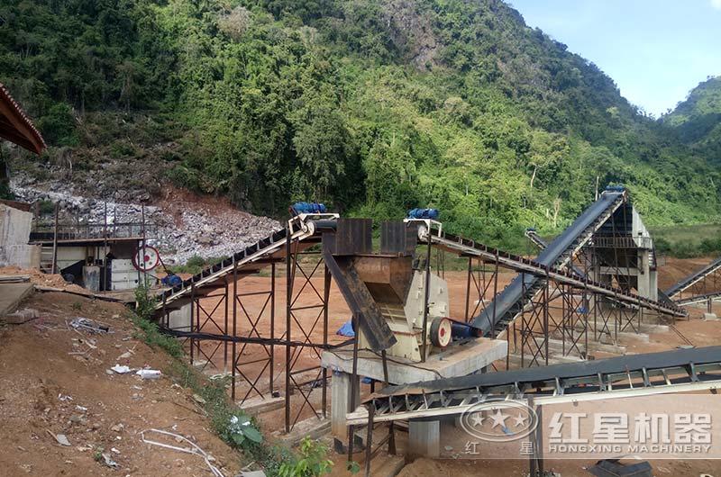 老挝客户反击破生产现场