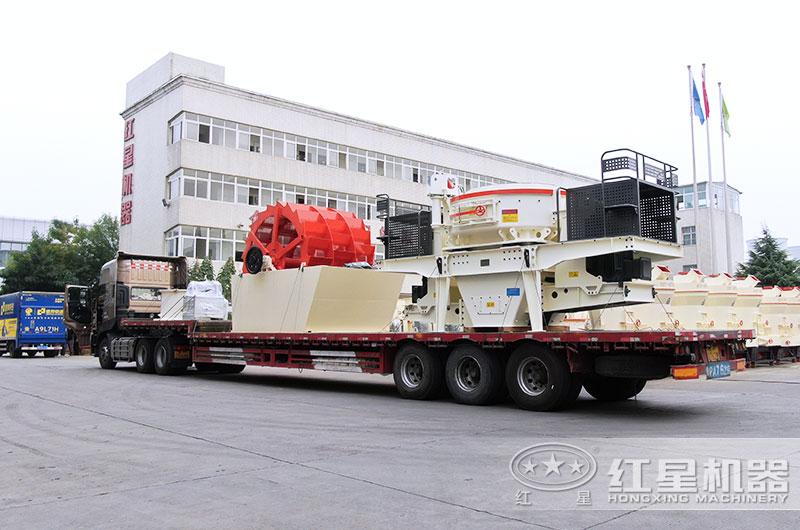 全套河卵石制砂机设备发货