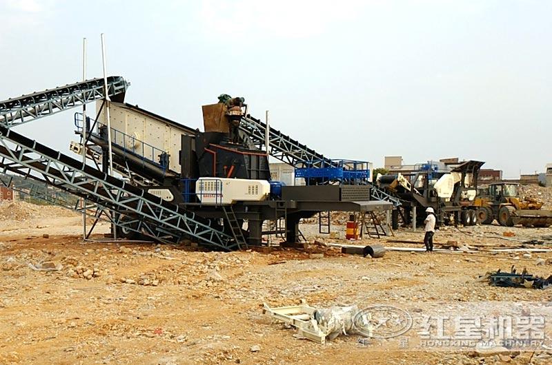 西安客户建筑垃圾处理厂